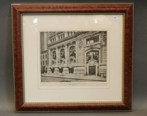 Lot 121 - Five New York Yacht Club Engravings