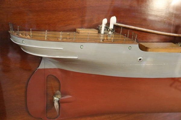 "Lot 137 - Steamship Builder's Model of ""S.S. Sierra Morena"""
