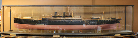 "Lot 506 - Builder's Model of the P&O Steamship ""Clyde"""