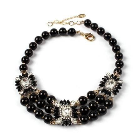 ARISTOCRATIC Aristocratic Black Necklace Necklace