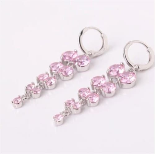 GISELLE Pink Earrings