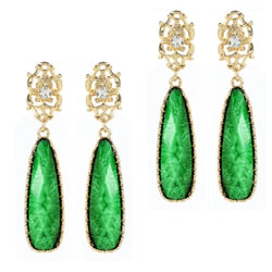 GREEN ISLAND Earrings