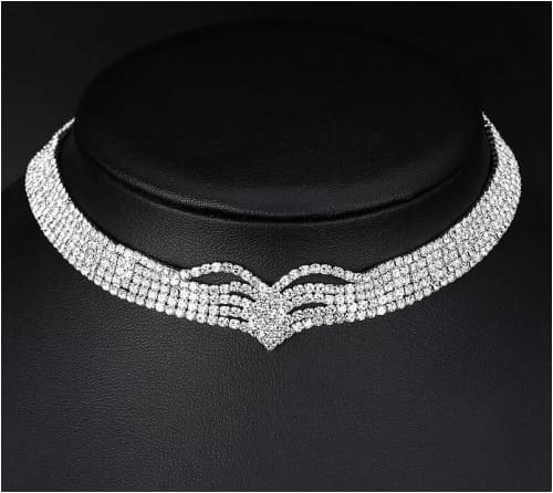 KIM CHOKER necklace