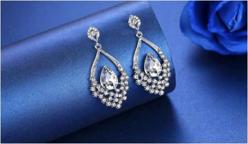LAUREEN Bridal Earrings