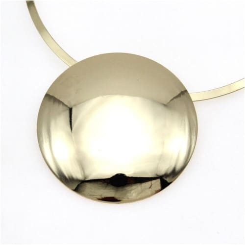 MAX CHOKER NECKLACE Gold necklace