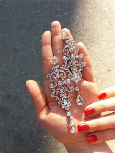 NIKKI Bridal Earrings