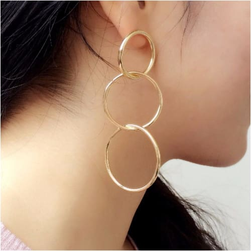 OLA HOOPS Earrings