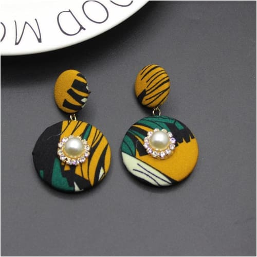 OMO EARRINGS Ankara Earrings