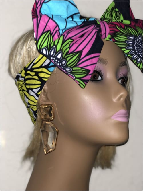 THE SIMI BOW HEADBAND Ankara