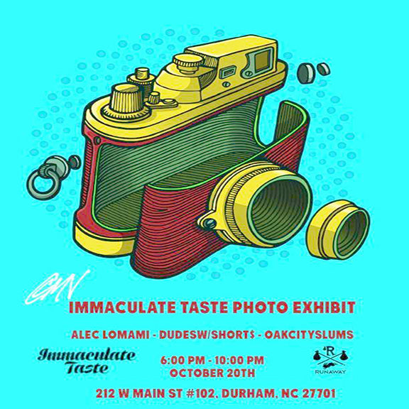 Immaculate Taste Photo Exhibit