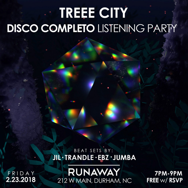 Treee City DISCO COMPLETO Listening Party