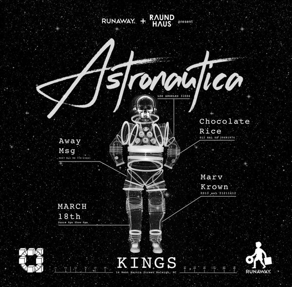 Raund Haus recruits Astronautica to King's on the heels of label announcement