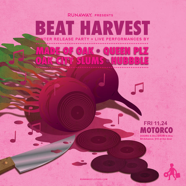 Beat Harvest: 2017 Winter Release Party