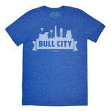 Bull City Skyline Tee(royal)