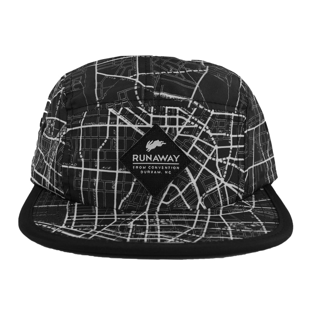 Old Durham Map Hat