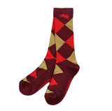 Diamond Socks(red)
