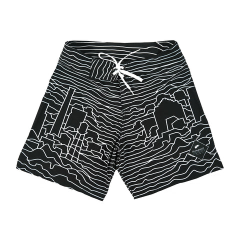 Durham Flag Shorts (Navy)