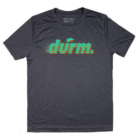 DURM Bull Form Fitting Women's Tee(blue)
