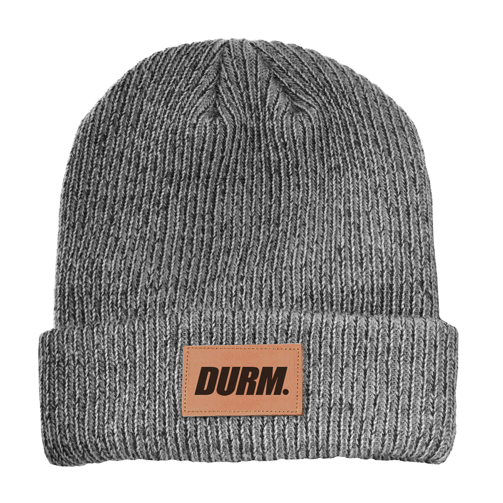 DURM Patch Beanie(Gray)