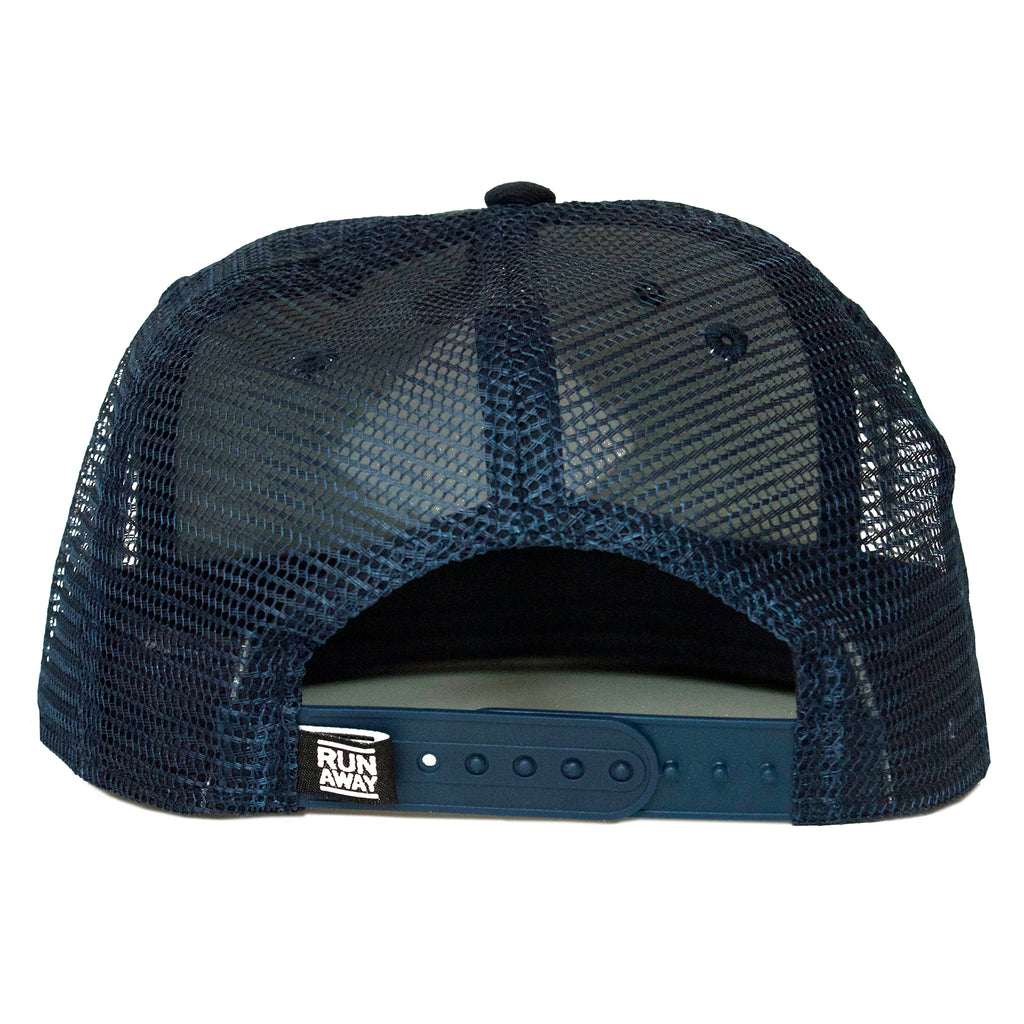 NC Crest Trucker Hat(Navy)