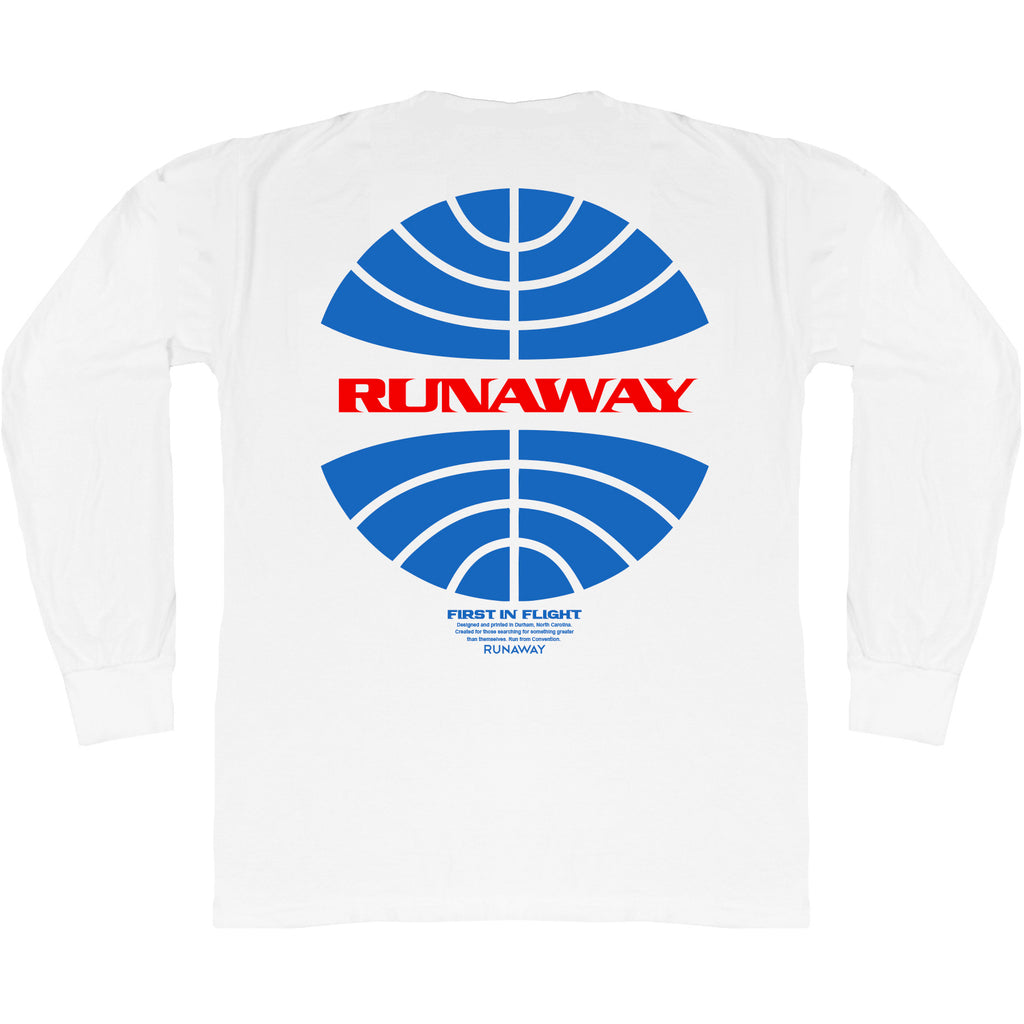 First in Flight LS Tee