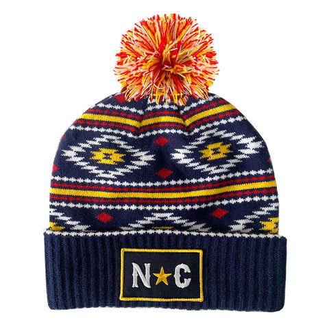 NC Crest Trucker Hat(Gray)