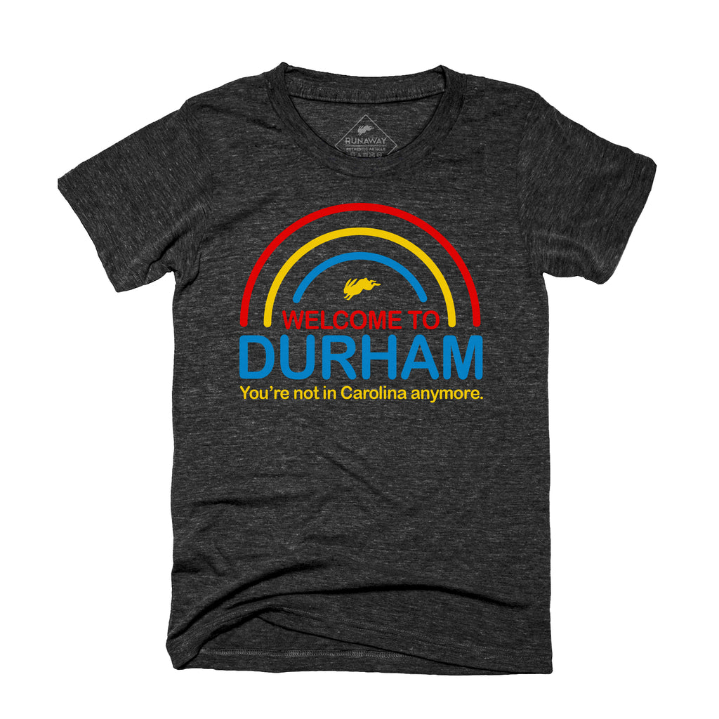 Welcome to Durham Women's Tee(relaxed fit)