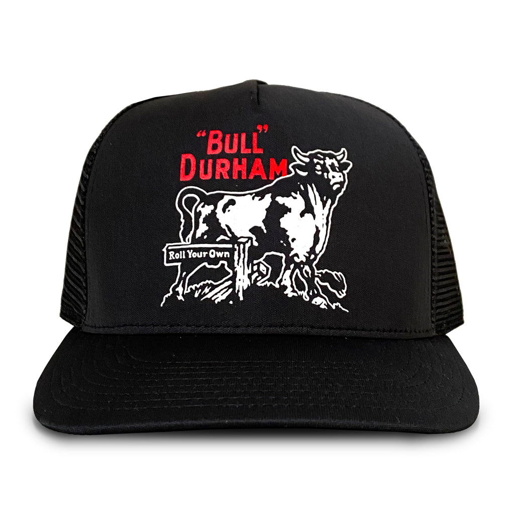 Bull Durham Trucker Hat(black)
