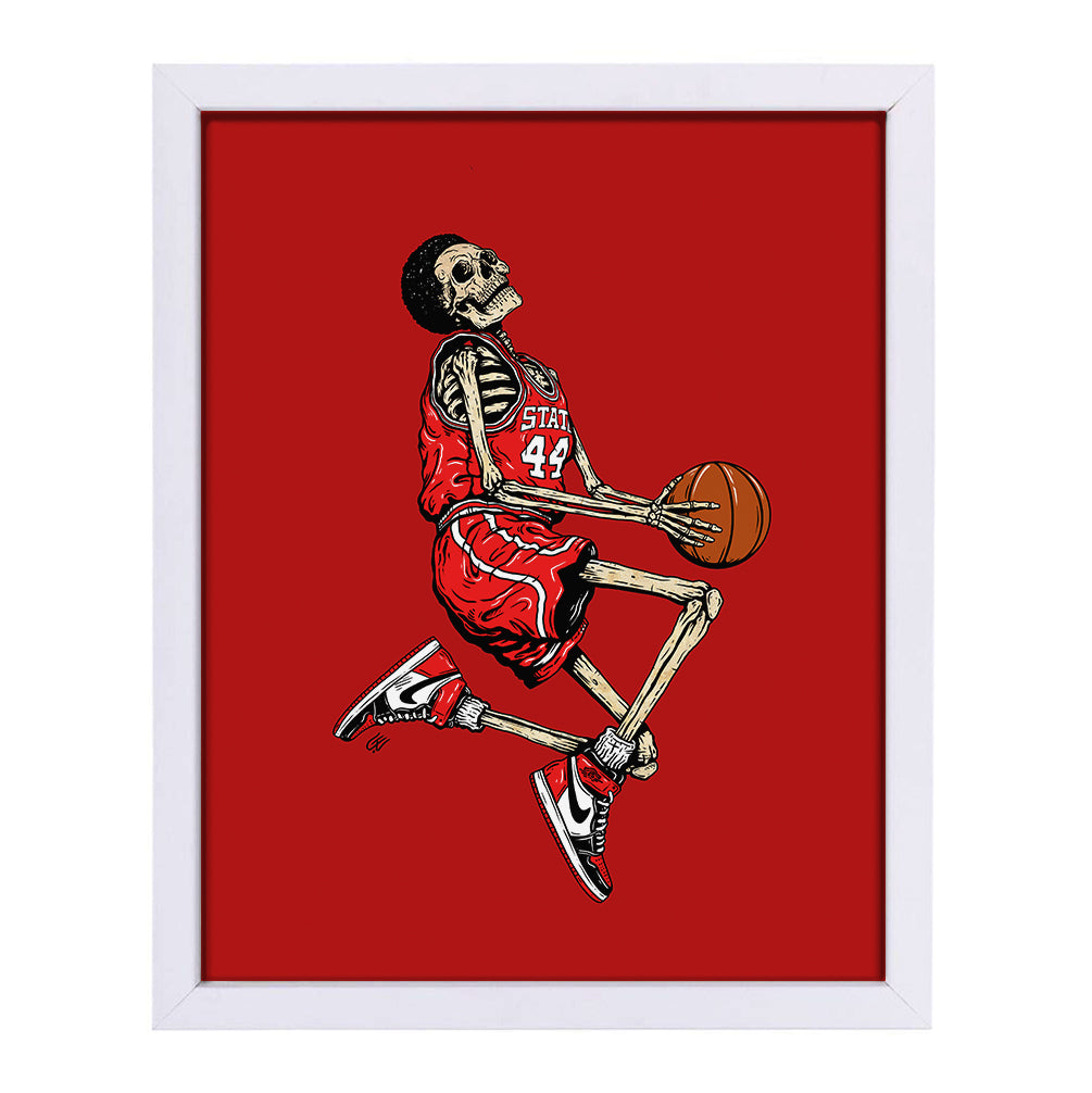 Thompson Dunk Art Print