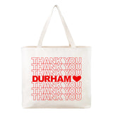 Thank You Durham Tote Bag