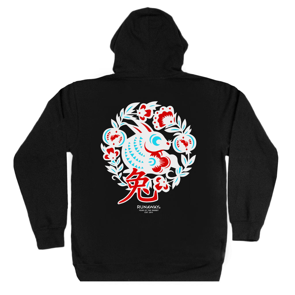 Year of the Rabbit Hoodie