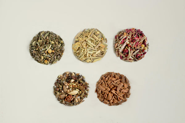 Herbal Tea Tisane Loose Leaf Samples