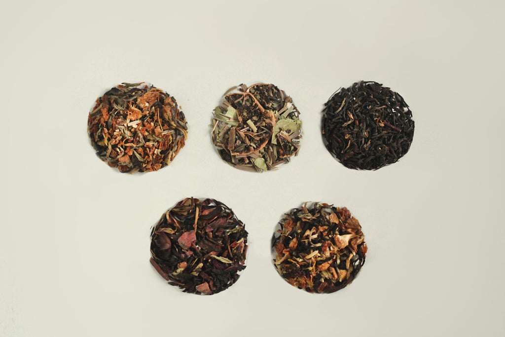 All-Natural, Organic, Loose Leaf, Flavored Tea Blend Samples Ahista Tea