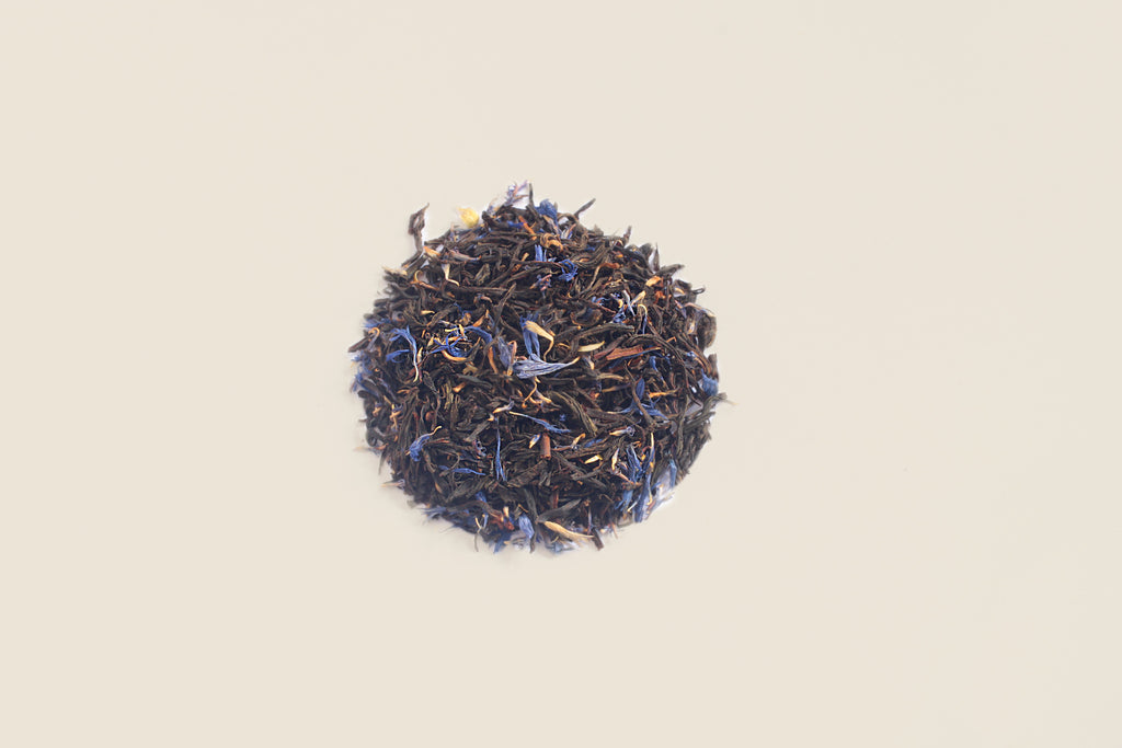 An All-Natural, Organic, Loose Leaf, Aged, Cream of Earl Grey Black Tea Blend
