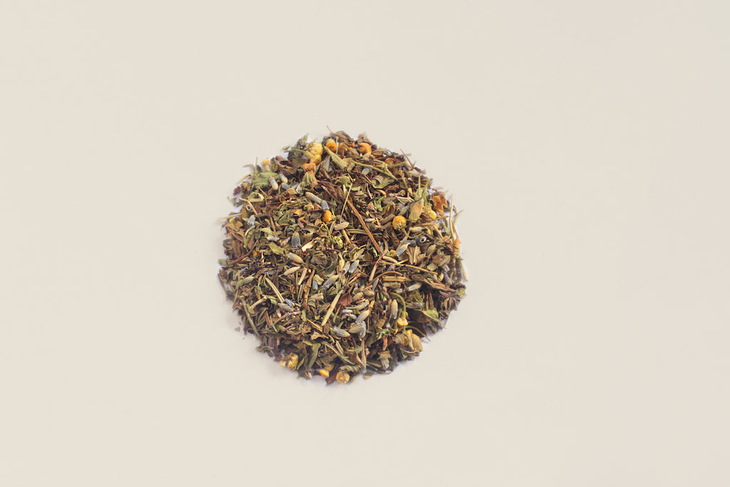 An All-Natural, Organic, Loose Leaf, Sweet Mint Digestive Herbal Tea Blend