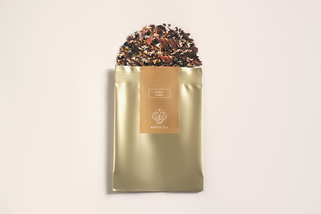 Black Forest Cake Flavored Tea Sample Pack Luxury Premium Ahista Tea