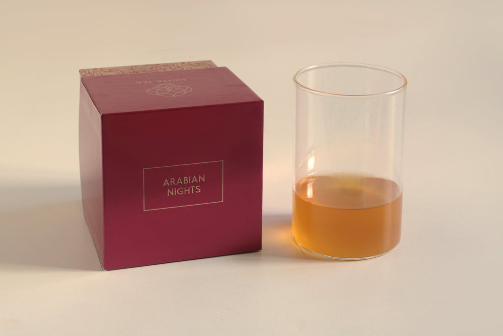 Premium green tea blend liquor and luxury tea gift packaging Moroccan mint spearmint