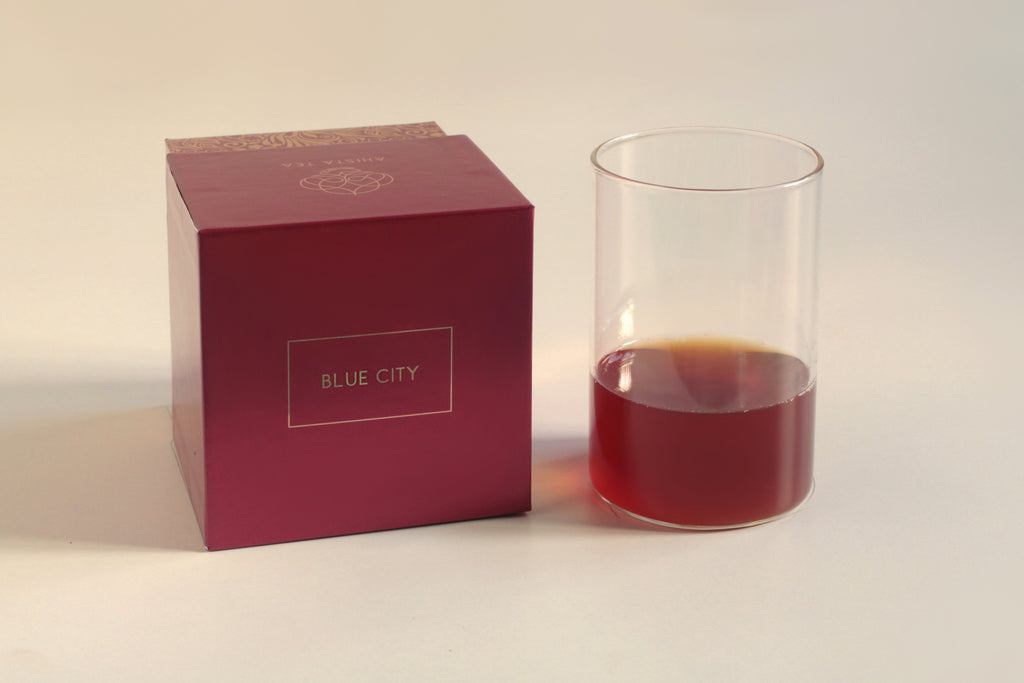 Cream of Earl Grey Black Tea Blend Liquor and Luxury Tea Gift Packaging