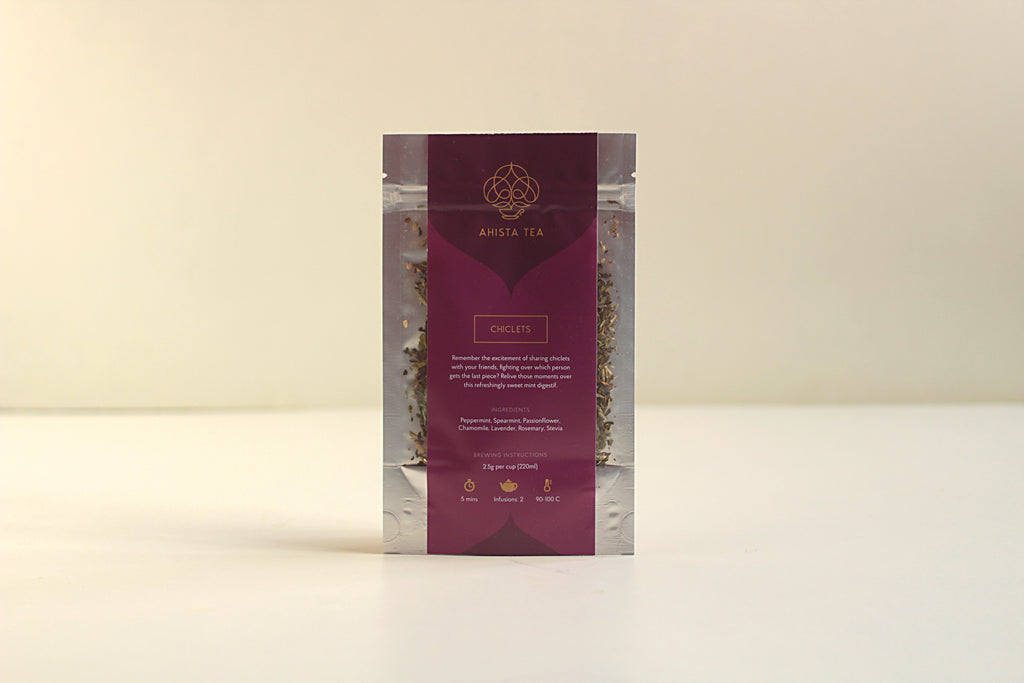 Sweet Mint, Digestive Herbal Tea Refill Bags for Tea Enthusiasts, Connoisseurs, Corporate Employees and Clients.