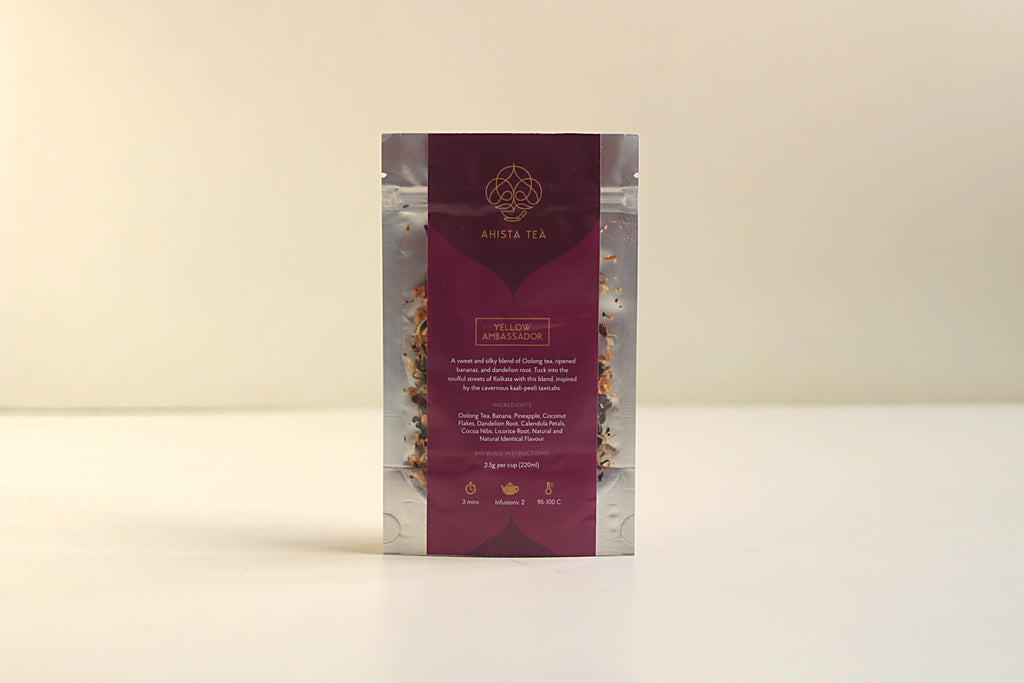 All-Natural, Organic, banana flavored banana split dessert oolong tea blend Refill Bags for Tea Enthusiasts, Connoisseurs, Corporate Employees and Clients.