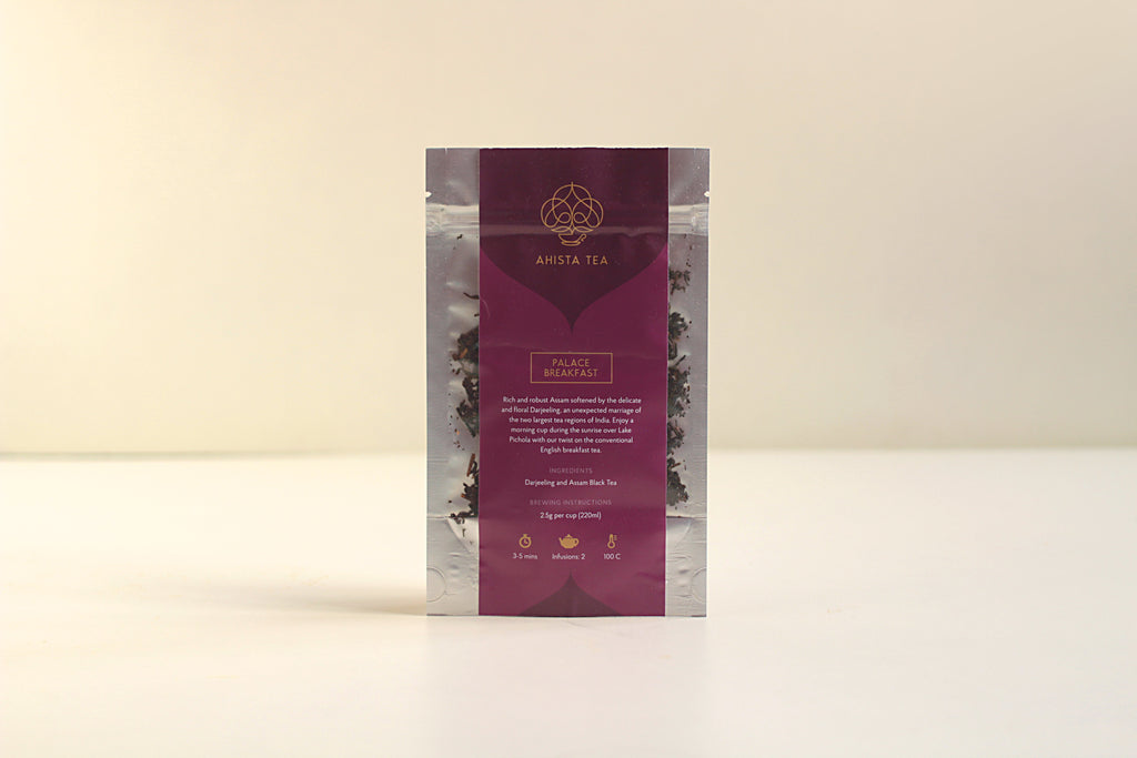 All-Natural, Organic, Loose Leaf, English Breakfast Assam Darjeeling Rich Robust Delicate Blend Refill Bags for Tea Enthusiasts, Connoisseurs, Corporate Employees and Clients.
