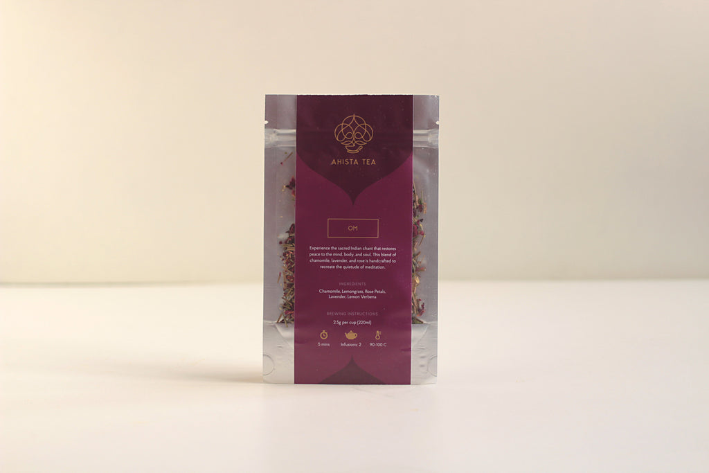 All-Natural, Organic, Sleepytime Bedtime Chamomile Rose Petals Lavender Herbal Tea Blend Refill Bags for Tea Enthusiasts, Connoisseurs, Corporate Employees and Clients.