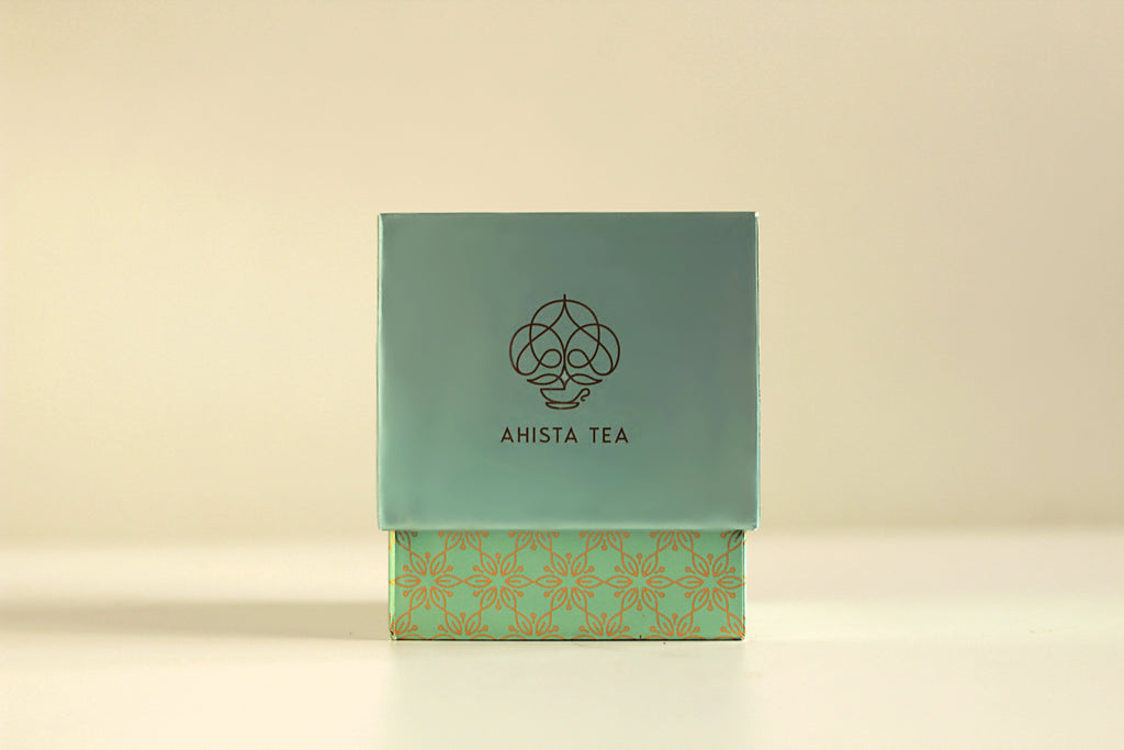 Ahista Tea Luxury Herbal Tea Gift Packaging Loose Leaf for Tea Enthusiasts, Connoisseurs, Corporate Employees and Clients.