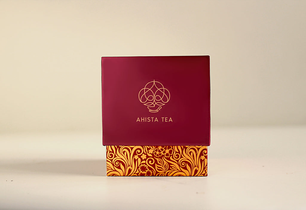 Ahista Tea Luxury Tea Gift Packaging Loose Leaf for Tea Enthusiasts, Connoisseurs, Corporate Employees and Clients.