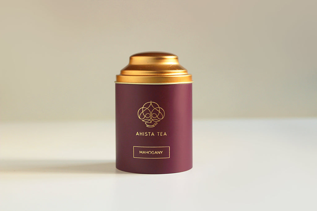 Premium, Single-Batch Indian Loose Leaf Oolong Tea Luxury Tea Tin Packaging Ahista Tea