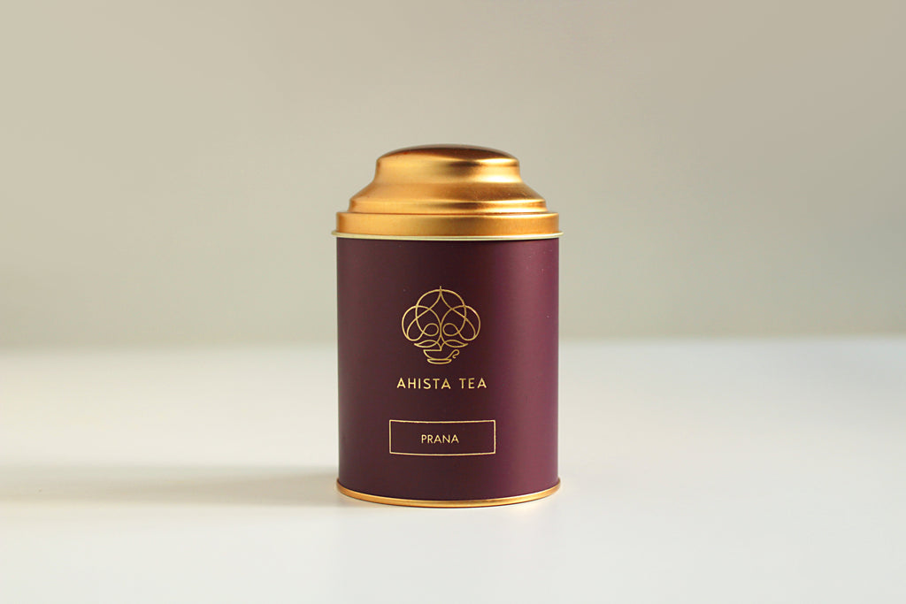 Premium, Single-Batch Indian Loose Leaf Green Tea Luxury Tin Packaging Ahista Tea