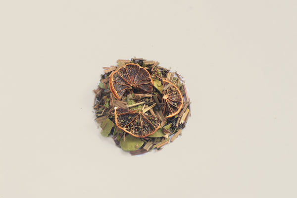 All-Natural, Organic, Loose Leaf, Mojito Mint Lime Green Tea Blend