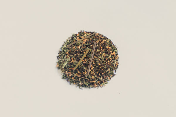 All-Natural, Organic, All-Natural, Organic, Loose Leaf, Ginger Lemongrass Field Mint Black Tea Chai Refreshing Blend Assam Tea Blend