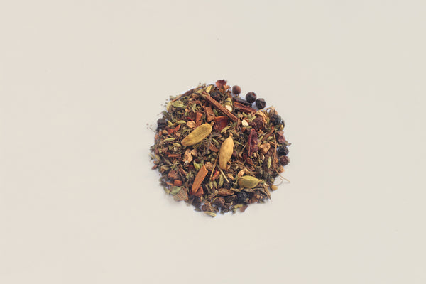 All-Natural, Organic, Loose Leaf, 15 spiced detox herbal chai tisane tea blend