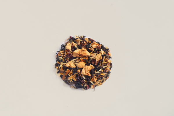 All-Natural, Organic, Loose Leaf, Banana flavored banana split dessert oolong tea blend